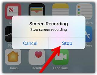 تسجيل الشاشة فيديو ايفون 5