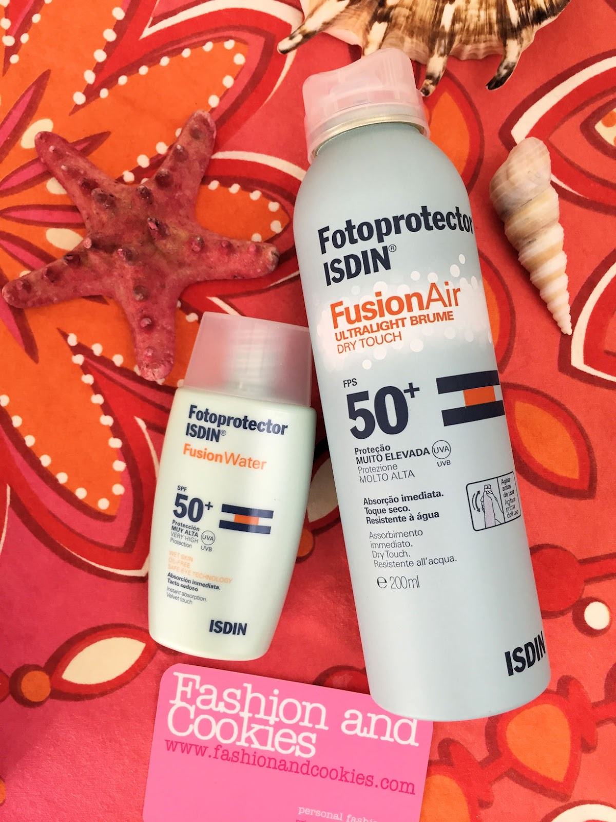 ISDIN Fotoprotector Fusion Water and Fusion Air on Fashion and Cookies beauty blog, beauty blogger