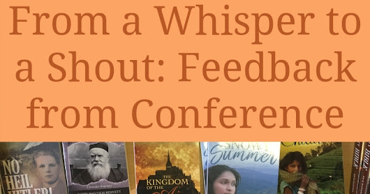 From a Whisper to a Shout: Feedback from Conference