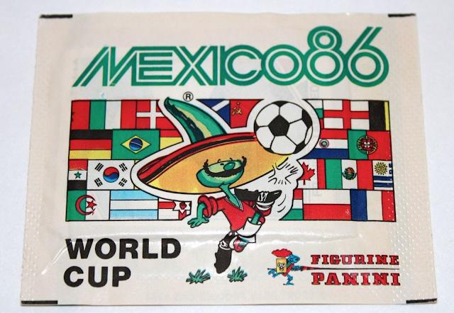 Bustina figurine Messico 86