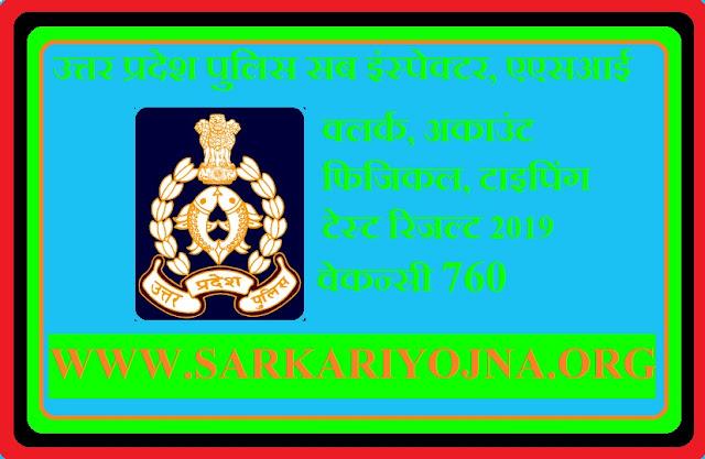 up police asi clerk result,up police,up police asi clerk latest news,uttar pradesh police sub inspector,up police computer