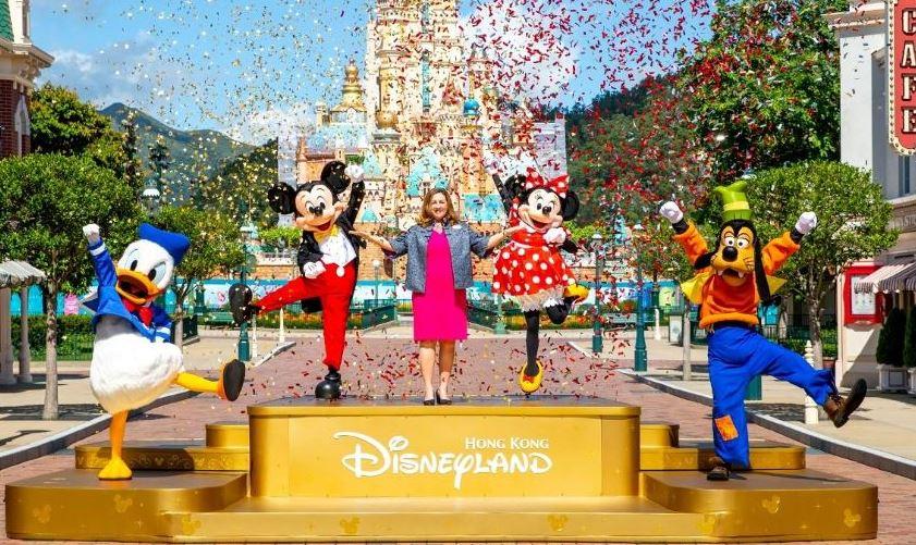 Hong Kong Disneyland officially reopens