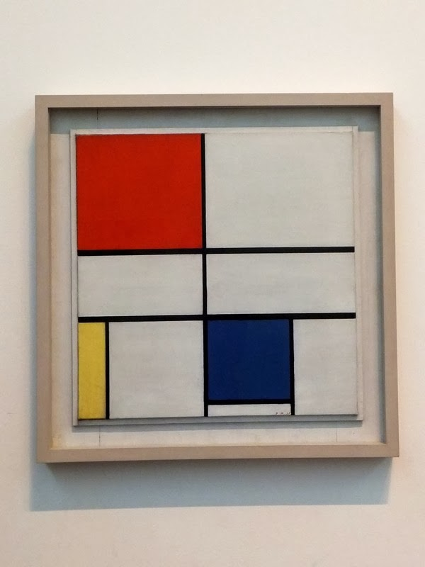 Londes London Tate Modern Museum musée mondrian