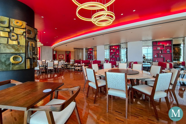 newly renvated Xin Tian Di Restaurant at Crowne Plaza Manila Galleria