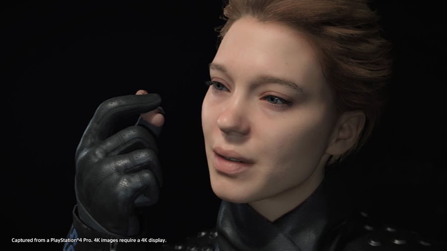 death stranding gameplay lea seydoux cryptobiote