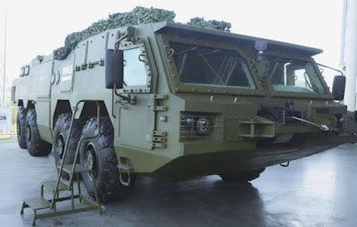 SKKSh 568 8 × 8 Tor Kalashnikov missile