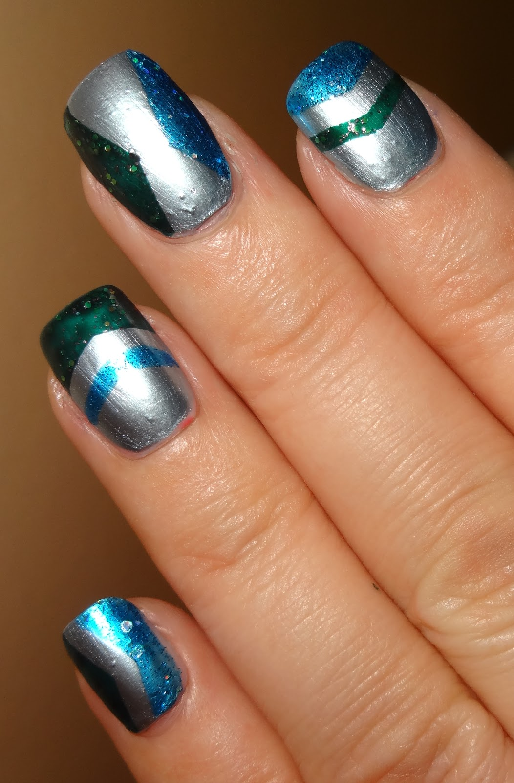 Wendy S Delights Relaxed Chevron Vinyl Nail Stencils From