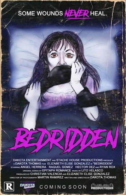 Tráiler oficial de BEDRIDDEN, terror indie dirigido por Dakota Thomas