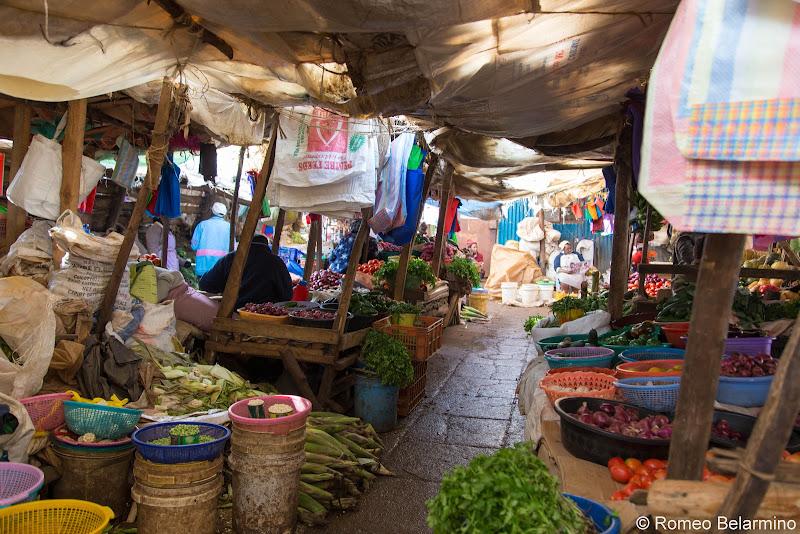 Limuru Market Volunteering in Kenya with Freedom Global