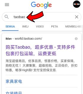 Cara beli Borong dari China Dengan taobao