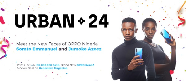 Meet the Winners of the Viral Urban24 Modelling Contest by OPPO Nigeria #Arewapublisize