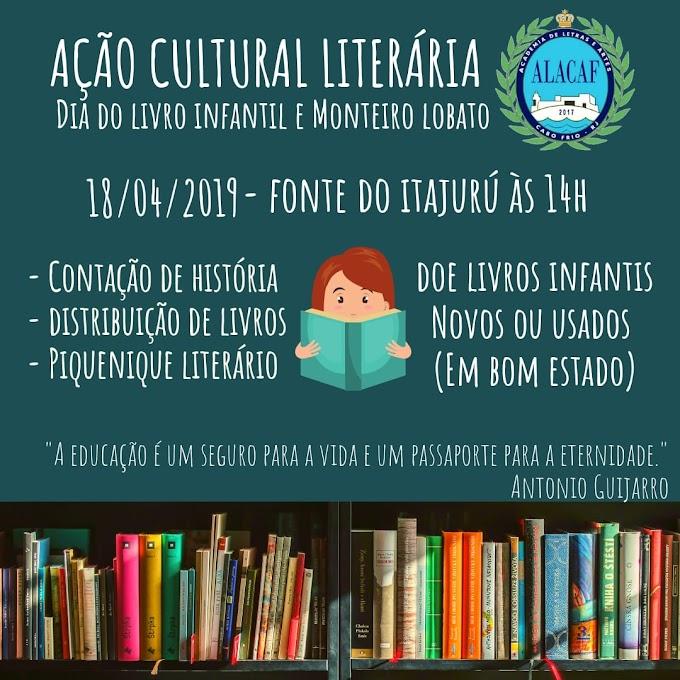 ALACAF arrecada livros infantis para doação - Participe desta Ação