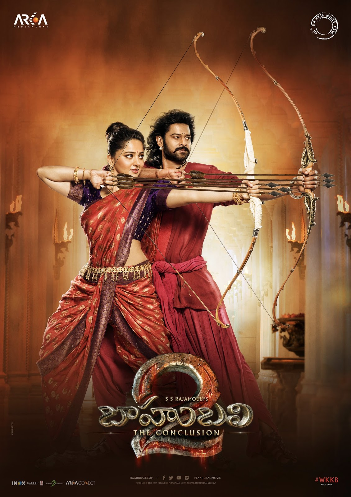 Hd wallpaper bahubali 2 - Prabhas_baahubali_new_poster Baahubali 2b2 2bmovie 2bfirstlook 2bposters2