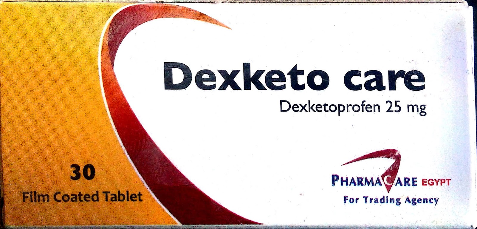 سعر ودواعى أستعمال أقراص ديكسكيتو كير Dexketo Care مسكنة للألام