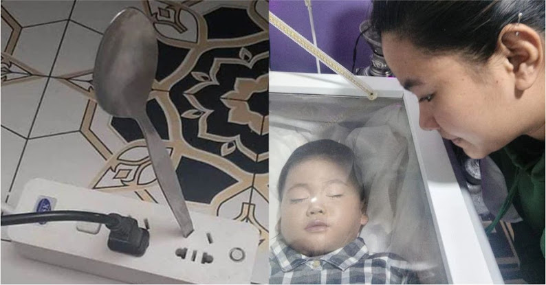 Nghịch ngợm cắm thìa vào trong ổ điện, bé trai 2 tuổi bị điện giật tử vong