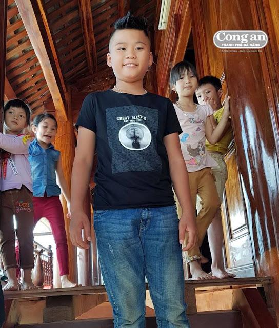 Nạn nhân – cháu Lương Ngọc Minh