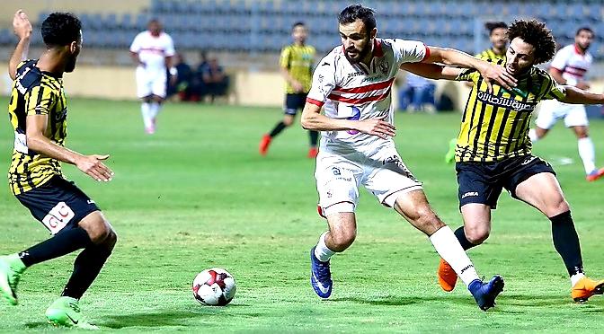 ملخص و أهداف مباراة الزمالك والمقاولون العرب 2-1 - مباراة الاثارة والجنون!! الدوري المصري 2019