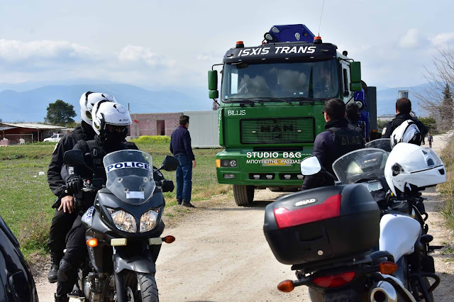 Ένταση στην Αργολίδα κατά την έναρξη εργασιών του σταθμού μεταφόρτωσης απορριμάτων της ΤΕΡΝΑ