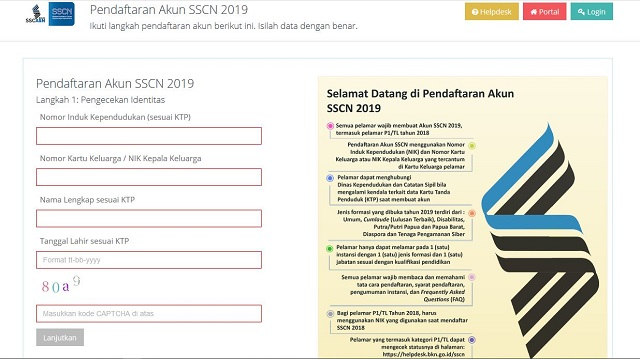 Tutorial Cara Daftar Online CPNS (3)