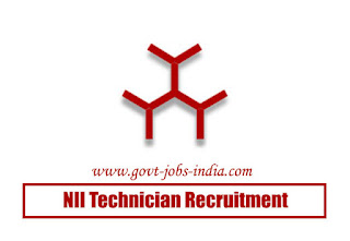NII Technician Recruitment 2020