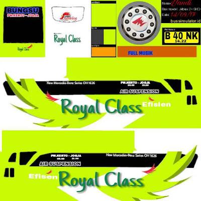 tema bussid royal class