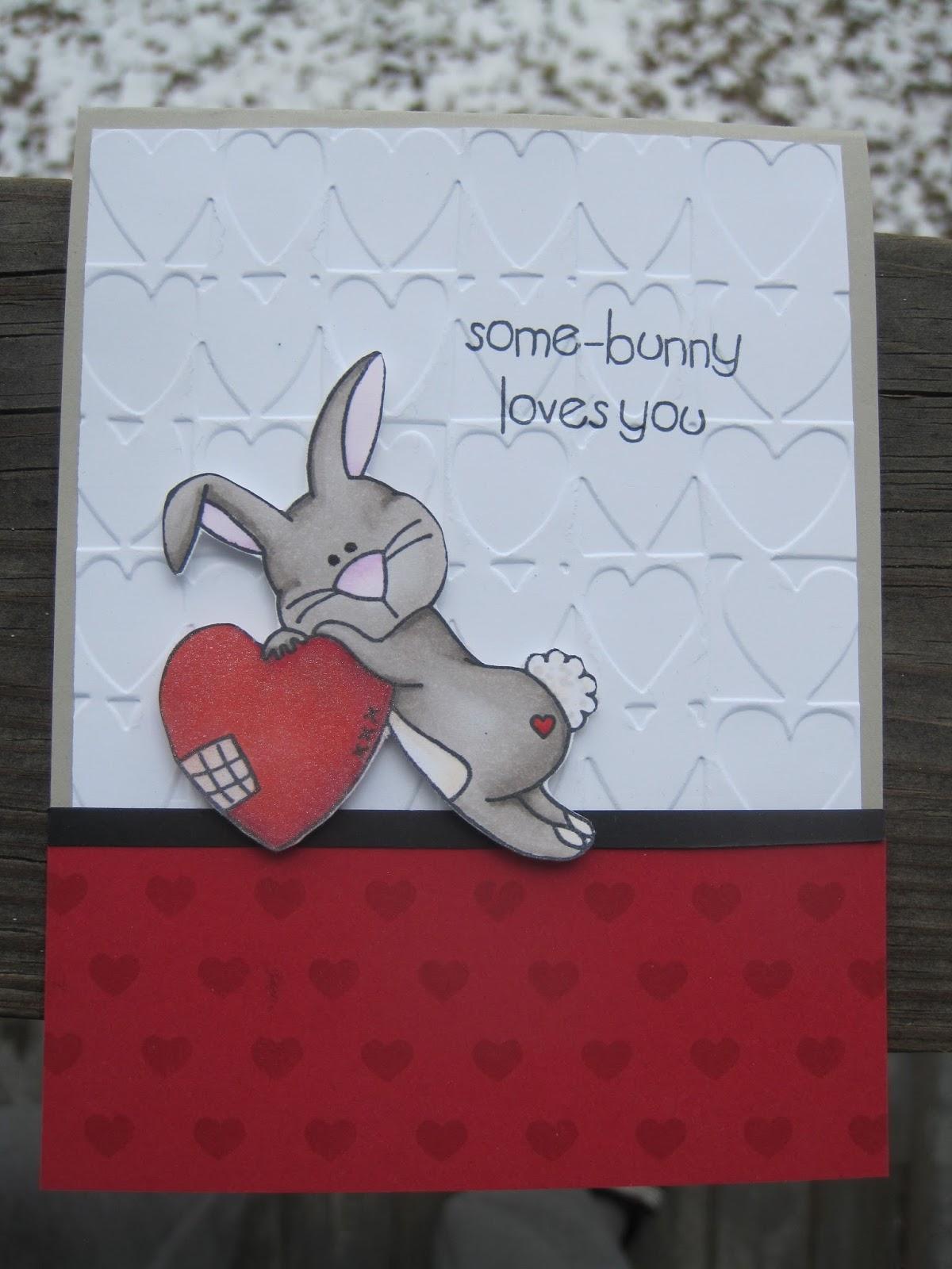 purple lake stamps some bunny loves you. Black Bedroom Furniture Sets. Home Design Ideas