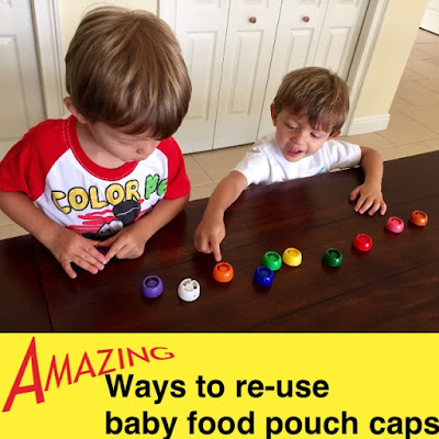 Amazing Ways to Re-use Baby Food Pouch Caps