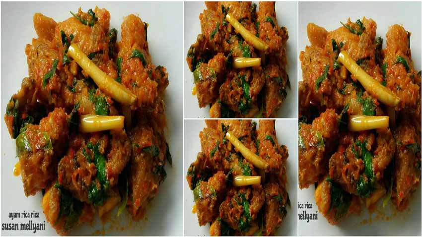Resep Membuat Ayam Rica Rica by Susan Mellyani