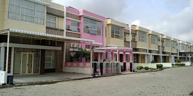 Rumah Tipe Olive Di Green Park Jl. STM Kampung Baru Medan