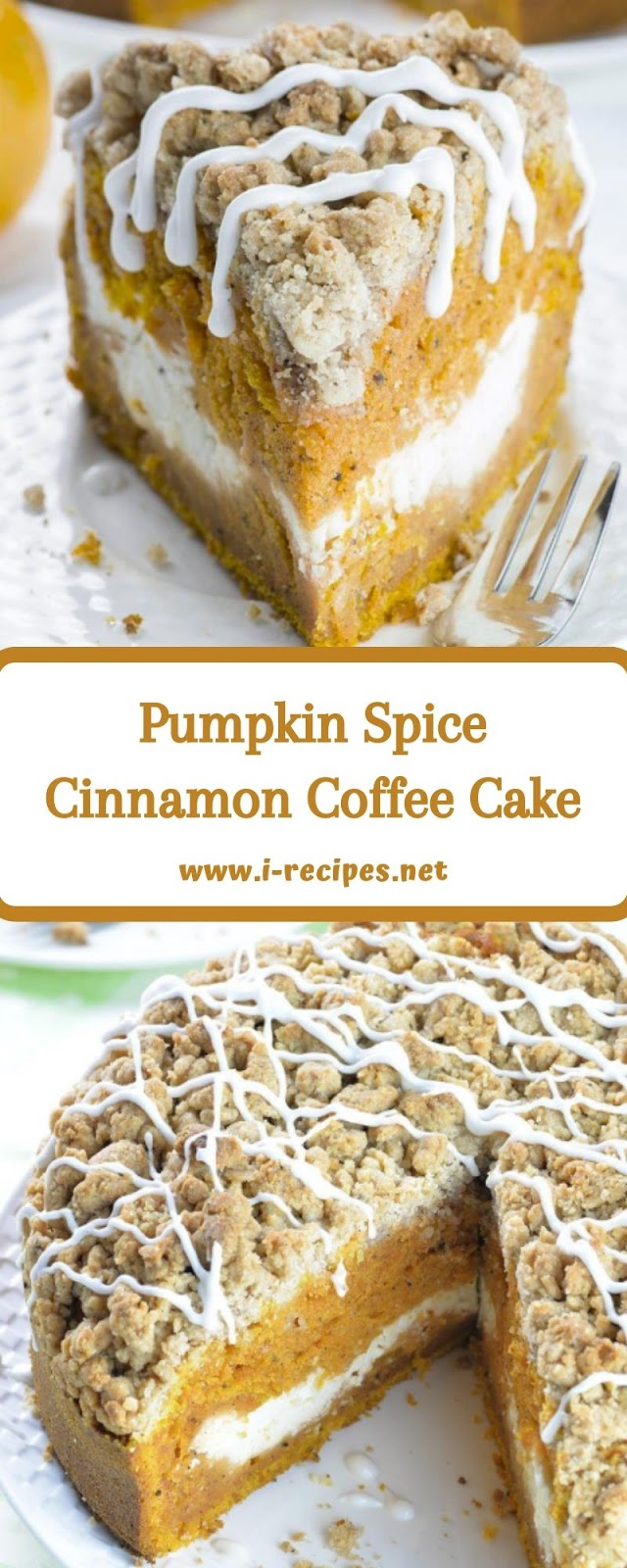Pumpkin Spice Cinnamon Coffee Cake