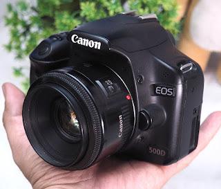 Jual Kamera Bekas Canon EOS 500D Malang
