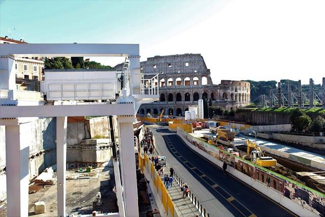 Metro C: la prima TBM è ripartita da Amba Aradam