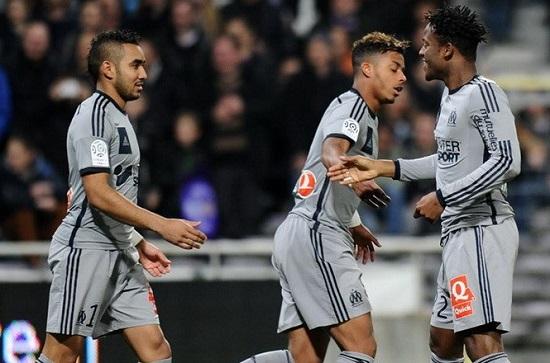 Toulouse hứng cơn mưa bàn thắng từ Marseille.