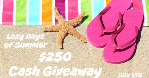 Lazy Days of Summer Cash Giveaway