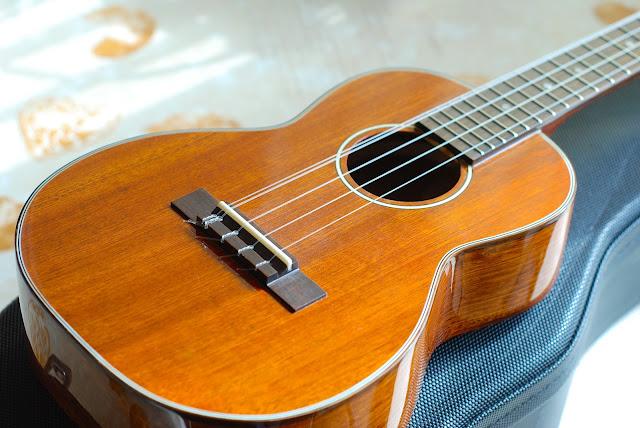 Ohana TK-35G-5 Tenor 5 string ukulele body