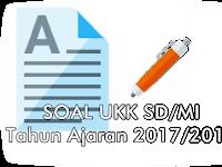 Soal Latihan UAS/UKK SD/MI 2018