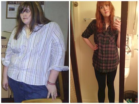 Η χρήστης Ashley3nb έχασε 74 κιλά σε 18 μήνες