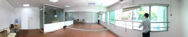 Cho thuê phòng tập nhảy Quận 10 - số 781 Lê Hồng Phong