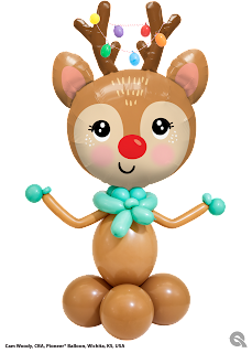 Beautiful Reindeer design created by Cam Woody