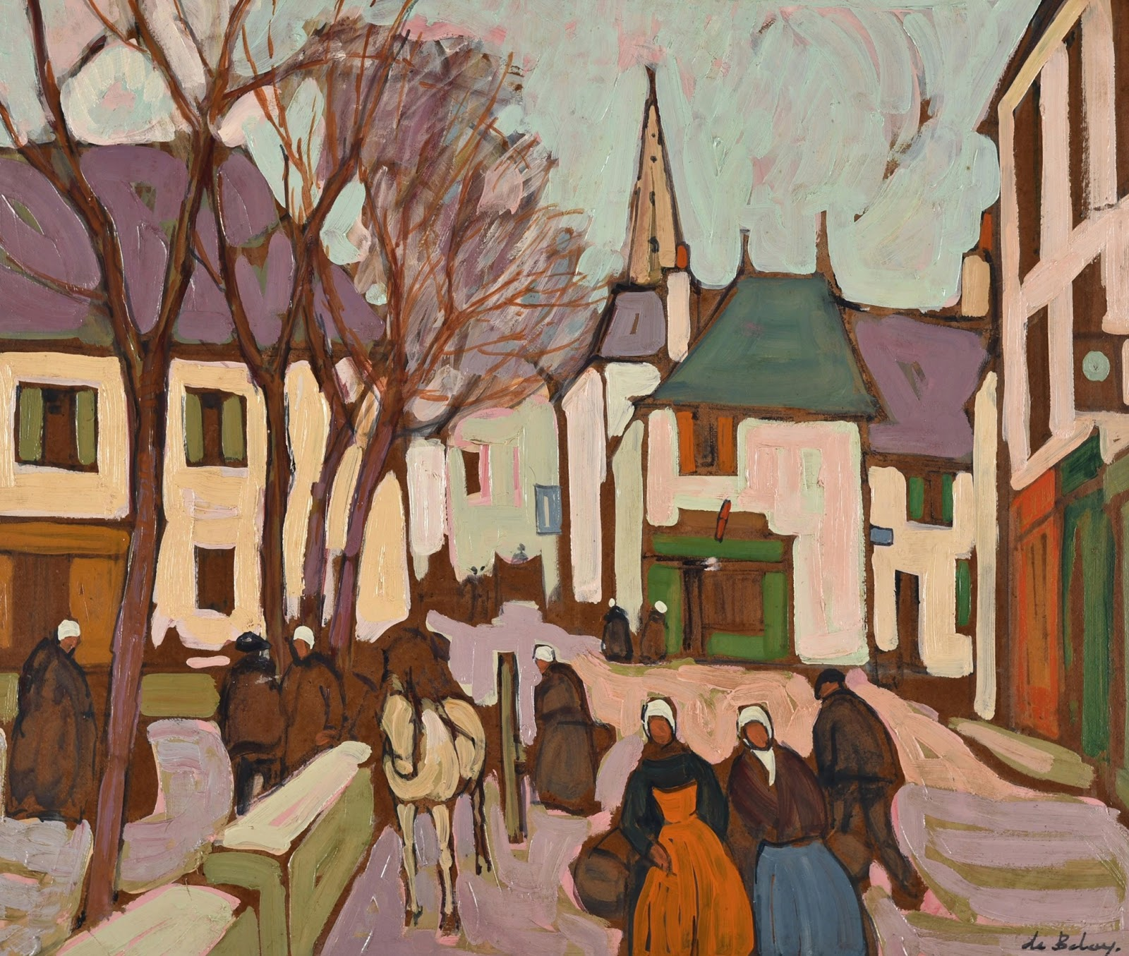 Por amor al arte: Pierre de Belay (1890 - 1947)