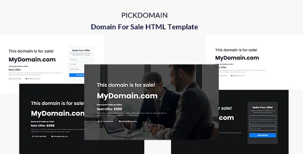 Domain For Sale Templates