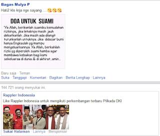 Status Facebook Update