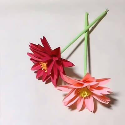 3D paper flower bouquet 7
