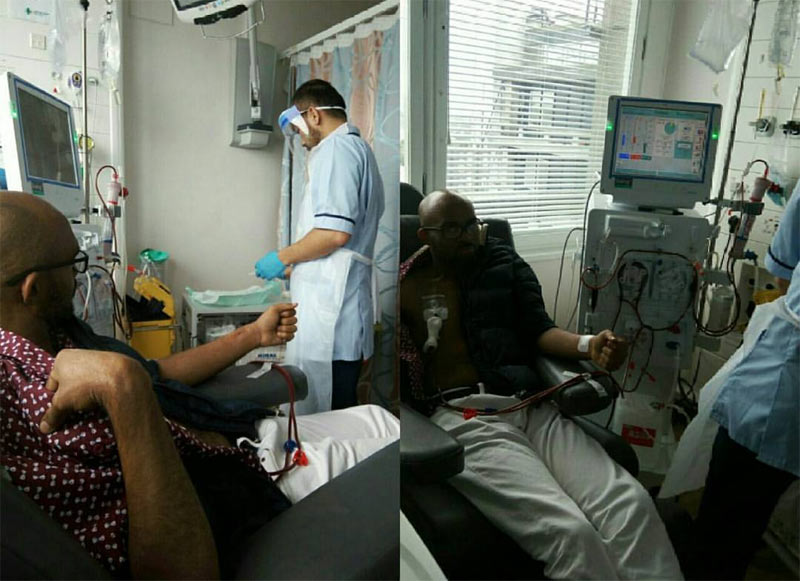 Actor Leo Mezie finally travels abroad for life-changing surgery, thanks well wishers