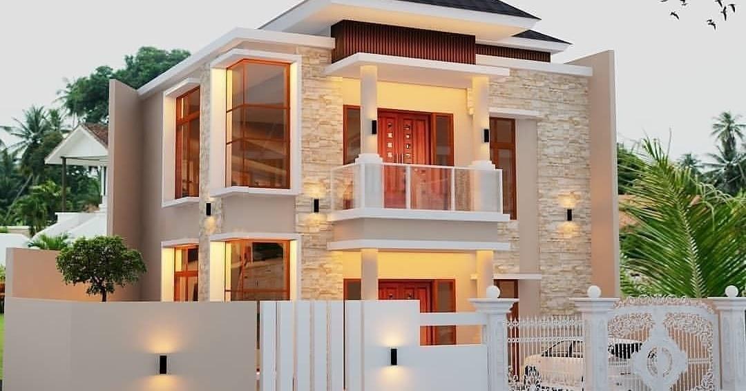 Ide Desain Rumah Minimalis Terbaru 2020 Modern Tampak Depan Ndekorrumah