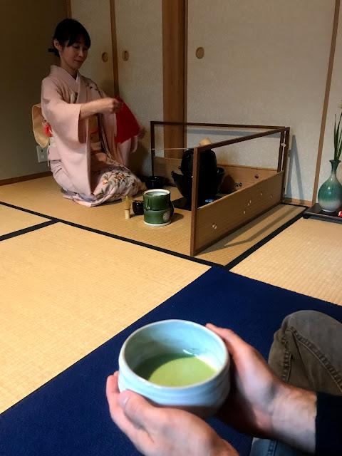 Camellia FLOWER tea ceremony