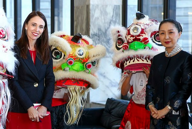 NEW ZEALAND BECOMES FIRST CORE WESTERN TERRITORY TO JOIN CHINESE EMPIRE
