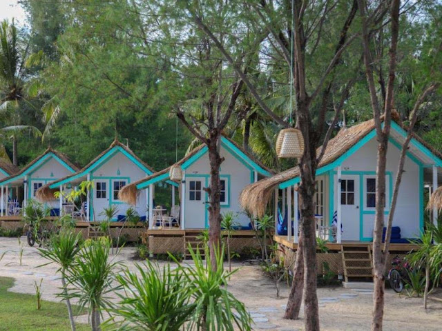 Hotel Le Pirate Beach Club Gili Trawangan Lombok