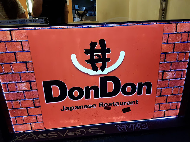 【墨尔本美食】墨尔本亲子游@Day6 Dinner Don Don Japanese Restaurant Melbourne| 廉价的日式餐点