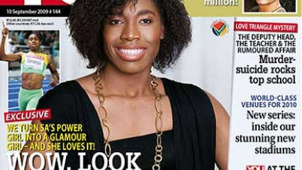 AFRONEVISM ENTERTAINMENT: Caster Semenya in love